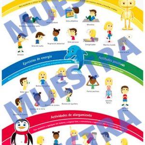 Poster de 26 ejercicios de Brain Gym