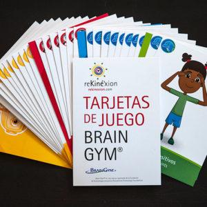 cartas de los 26 ejercicios de Brain Gym